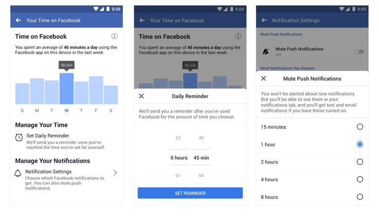 How to check how much time you spend on Facebook and Instagram
