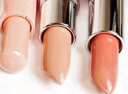 nude lip colour