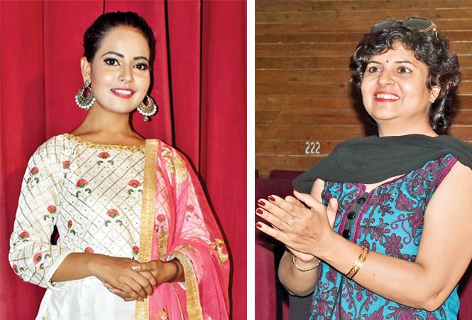 (L) Nandini Maurya (R) Rekha Bhatia (BCCL/ Vishnu Jaiswal)