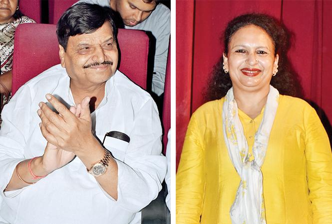 (L) Shivpal Singh Yadav (R) Razia Anwaz (BCCL/ Vishnu Jaiswal)