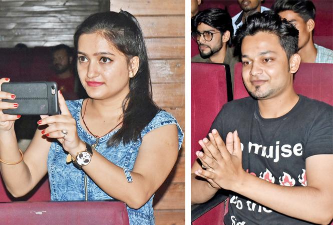 (L) Chandrakala (R) Saif Pathaan (BCCL/ Vishnu Jaiswal)