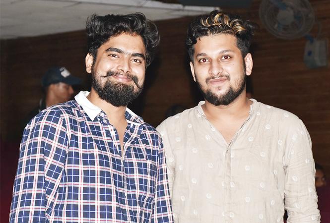 Bobby Maurya (L) and Shanawaz Khan (BCCL/ Vishnu Jaiswal)