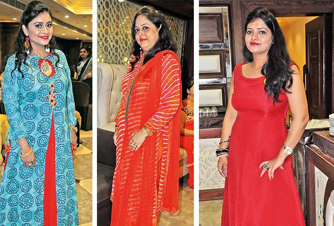 (L) Akansha (C) Anamika (R) Anjali (BCCL/ AS Rathor)