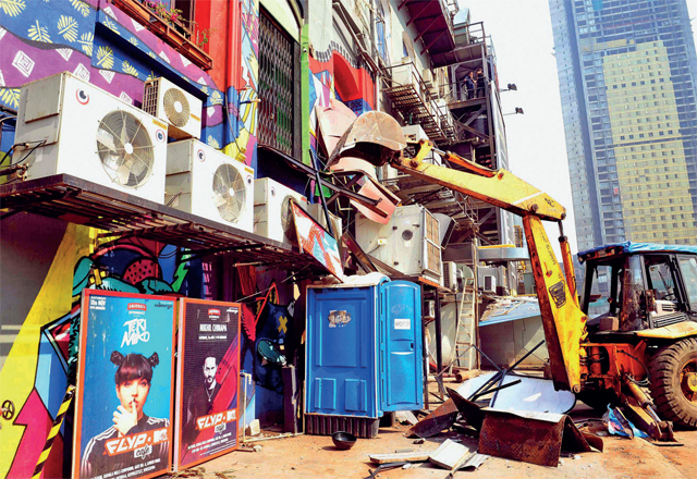 After the Kamala Mills fire, the BMC carried out demolitions at over 100 cafes and restaurants across Lower Parel