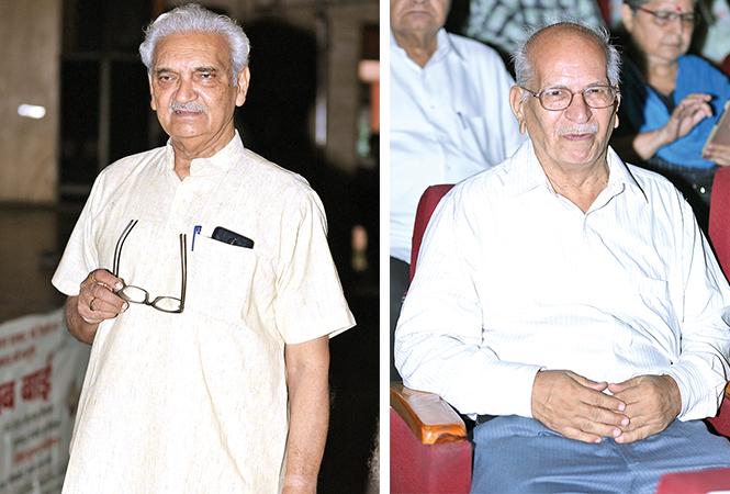 (L) Anil Rastogi (R) JK Mehrotra (BCCL/ Aditya Yadav)