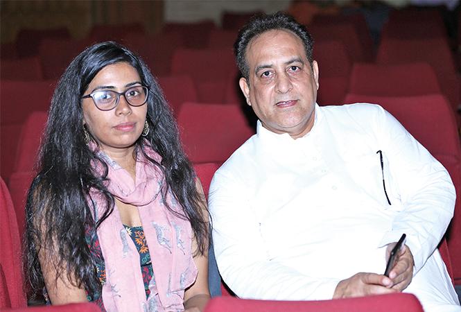 Shreya Awasthi and Ajay Sharma (BCCL/ Aditya Yadav)