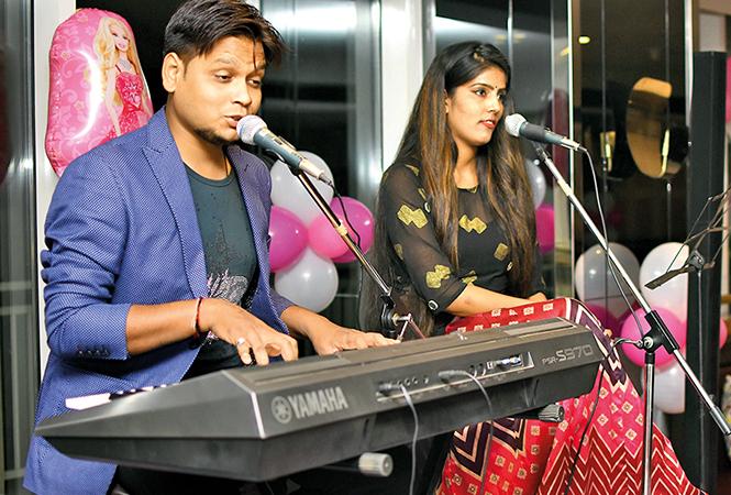 Sundaram Jaiswal and Saumya Srivastava (BCCL/ Farhan Ahmad Siddiqui)