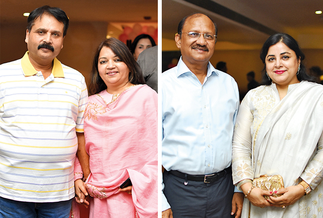 (L) Mahesh and Sangita (R) Shahabuddin and Farzana (BCCL/ Farhan Ahmad Siddiqui)