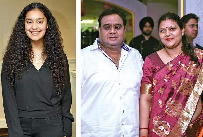 (L) Vanya Zaidi (R) Dr Jitendra and Dr Anita (BCCL/ Farhan Ahmad Siddiqui)