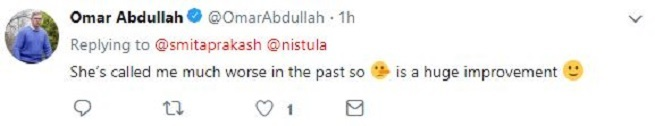 Abdullah  When Mufti used Pinocchio emoji to accuse Abdullah of spreading fake news | India News Master