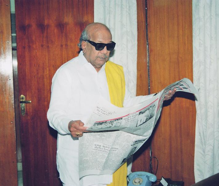 karuna_oldpic  Karunanidhi has left an indelible mark on national political scene | India News Master