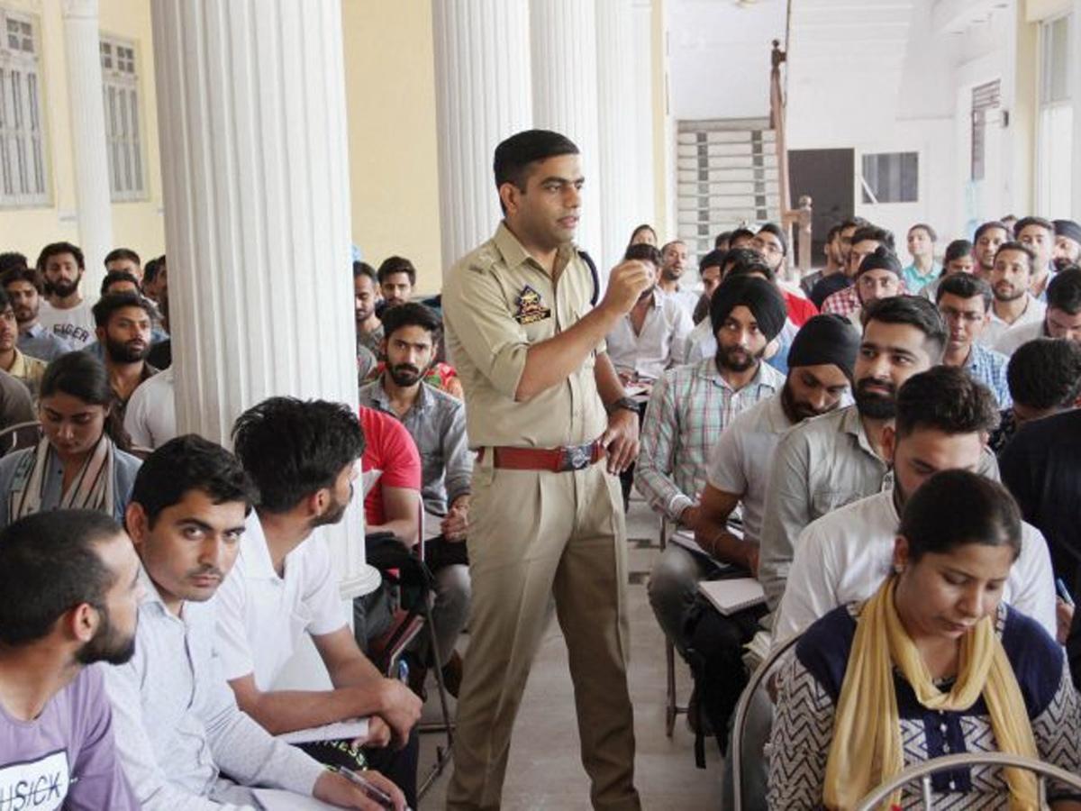 SandeepPTI  IPS officer Sandeep Chaudhary's 'Operation Dreams' bears fruit as 38 students pass sub-inspector test | India News Master