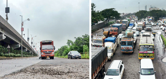 Sion-Panvel Highway (PHOTO BY K C SINGH)