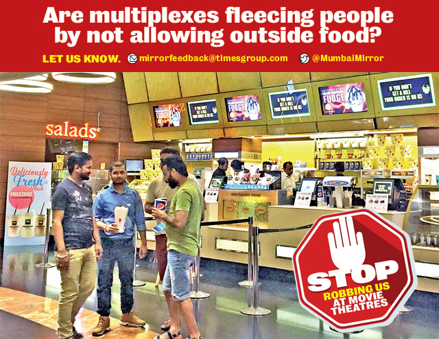 State's U-turn: Outside food in multiplexes a 'security threat', can cause 'chaos'