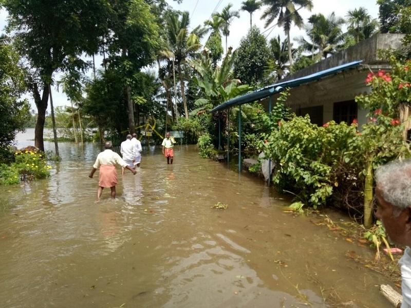 kerala rain1  18 killed in landslides and heavy rains in Kerala | Thiruvananthapuram News Master
