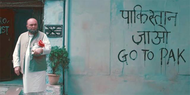 Rishi Kapoor in a still from Mulk