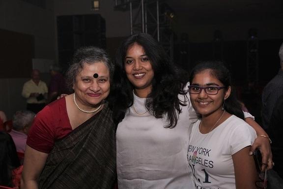 Madhusree Mukherjee with Anukta and Anvita Ghosh