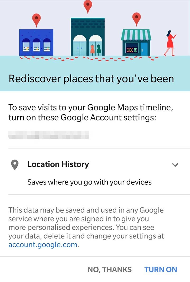 1  Google tracks where you have been to — even when you ask
