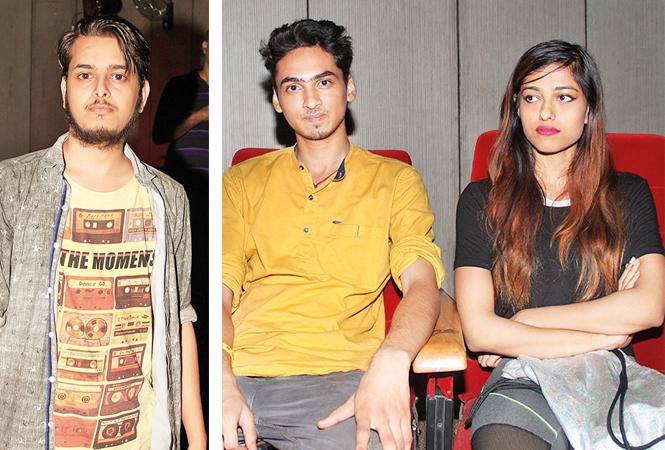 (L) Anuj (R) Vibhu Kaushik and Pallavi Singh (BCCL/ Aditya Yadav)