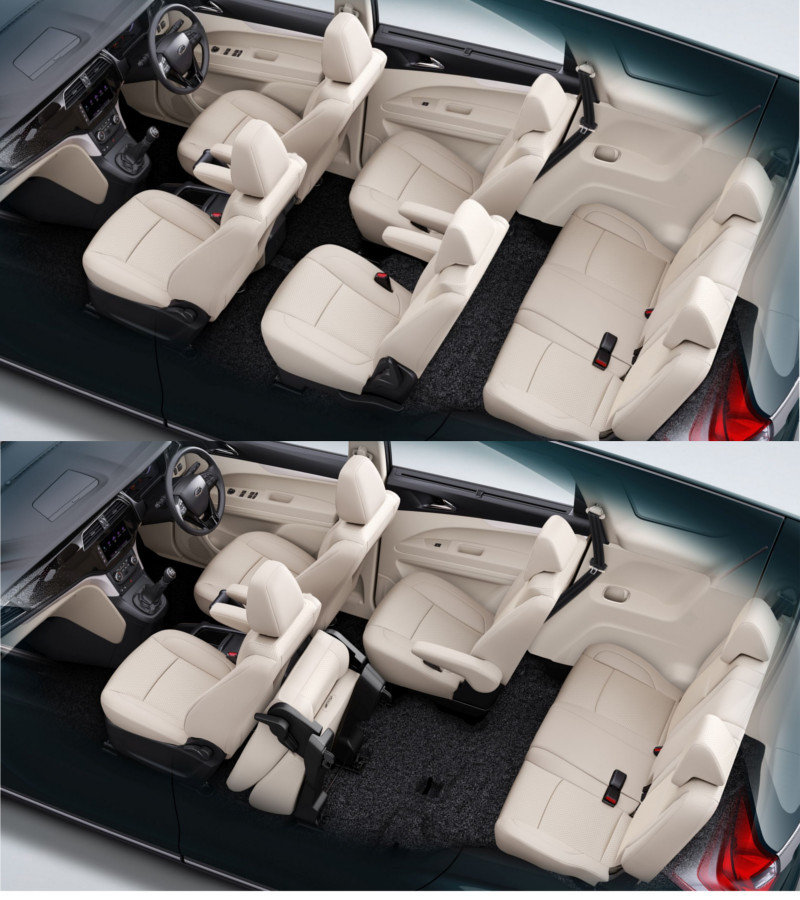 8 Seater Car India >> mahindra mpv: Mahindra reveals interior of upcoming Marazzo MPV - Times of India