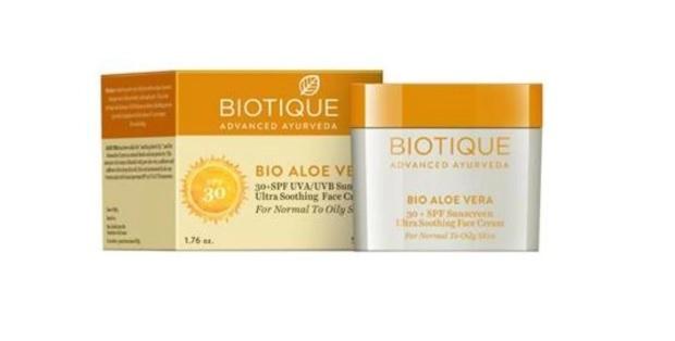 Biotique Bio Aloe Vera 30+ Spf Sunscreen