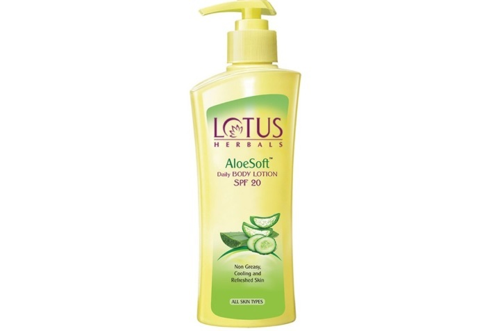 Lotus Herbals Aloe Soft Daily Body Lotion