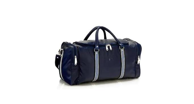 Mboss Blue Duffel Bag