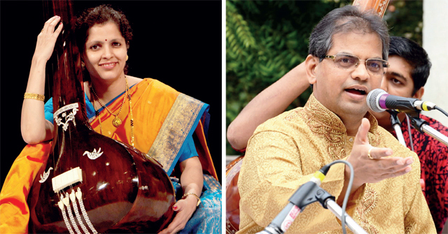 Apoorva Gokhale and Suresh Bapat will sing at Malhar Rang on August 25 (COURTESY PANCHAM NISHAD)