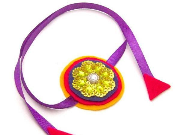 ribbon rakhi