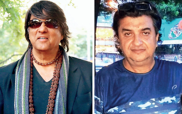 Mukesh Khanna; director Ujjwal Chatterjee (right)