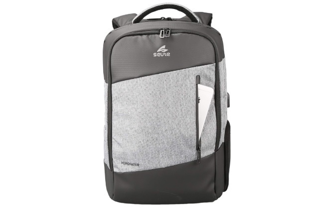 Seute Backpack with USB Port and Multipurpose Pocket