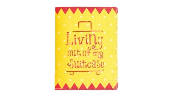 Suitcase Passport Wallet