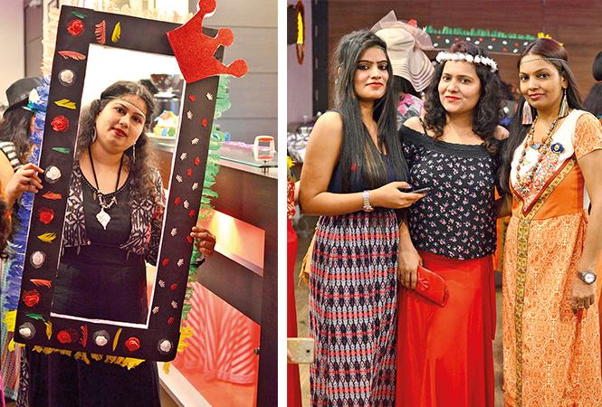 (L) Aparna (R) Aparna, Priyanaka and Vandana (BCCL/ Pankaj Singh)