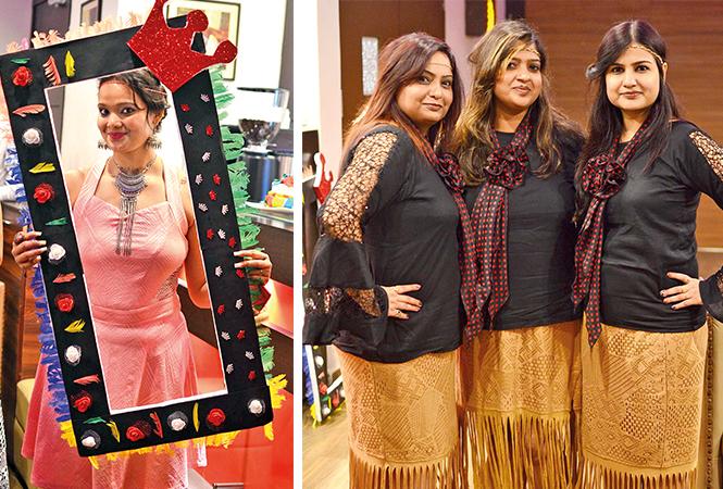 (L) Jaishree (R) Nidhi, Shaily and Nidhi (BCCL/ Pankaj Singh)
