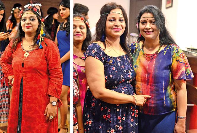 (L) Rashi (R) Shalini and Amrita (BCCL/ Pankaj Singh)