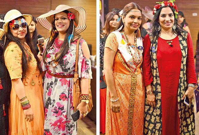 (L) Swati and Kanika (R) Vandna and Shalini (BCCL/ Pankaj Singh)