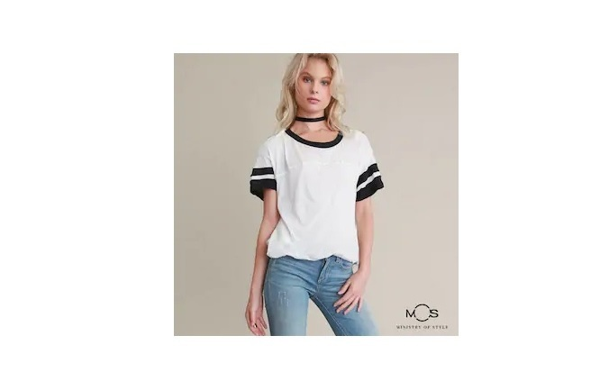 Women Colourblocked Casual Top