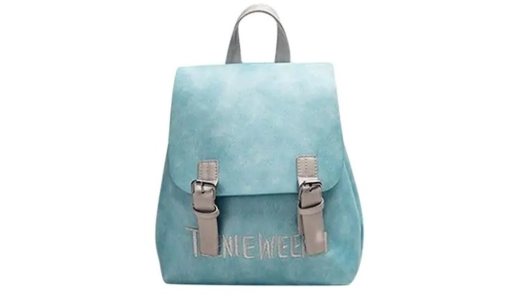 Women PU Leather Backpack Bag