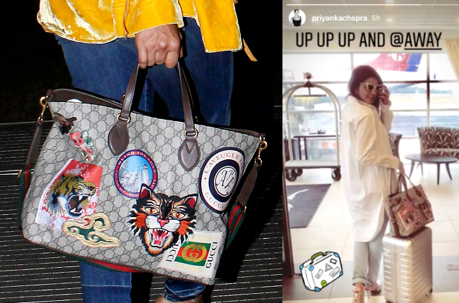 Priyanka Chopra's bags