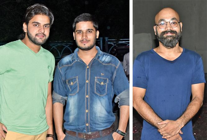 (L) Navneet Mishra and Shubham (R) Vishal Srivastava  (BCCL/ Vishnu Jaiswal)
