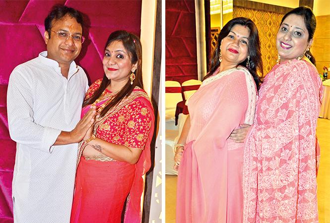 (L) Amol and Shivika (R) Ankita and Surabhi (BCCL/ IB Singh)