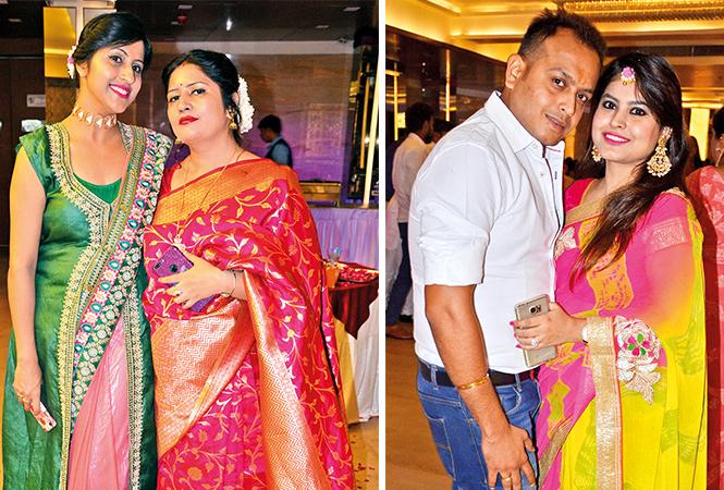(L) Deepali and Poonam (R) Jai and Jyotsana (BCCL/ IB Singh)