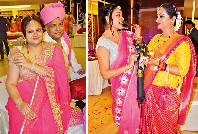 (L) Mala and Sanjay (R) Neha and Swati (BCCL/ IB Singh)