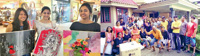 IIM-Lucknow students raised over Rs 2 lakh selling their paintings, as they turned their business negotiation coursework into a fund-raising exercise & Do for Others, an online collective, spearheaded relief efforts from Ernakulam, and raised funds from across the country
