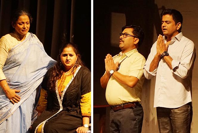 (L) Preeti Singh and Neha Verma (R) Sandeep Yadav and Ambreesh Bobby (BCCL)