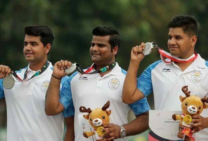 Aman Saini with Rajat Chauhan and Abhishek Verma