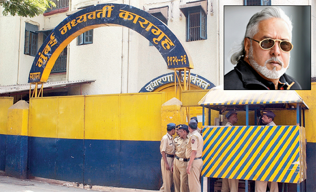Vijay Mallya has complained of the poor conditions at Arthur Road jail
