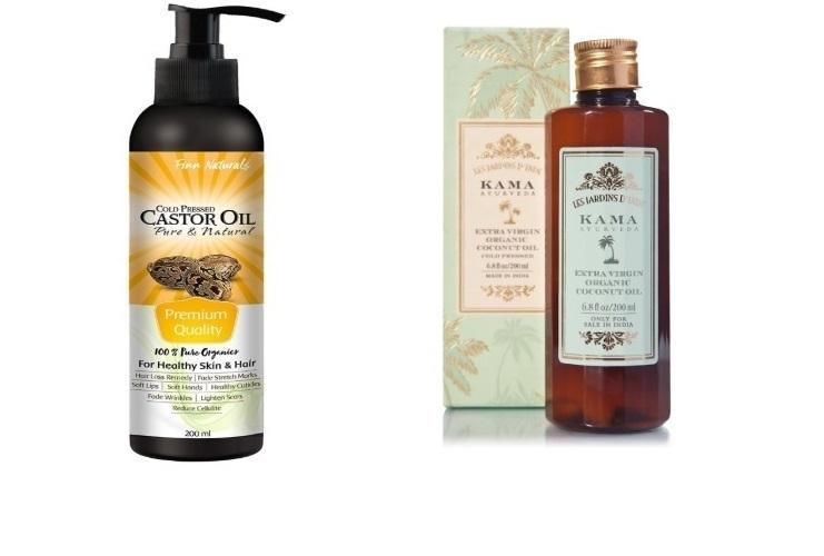 Finn Naturals Organic Castor Oil , Extra Virgin Organic Coconut Oil