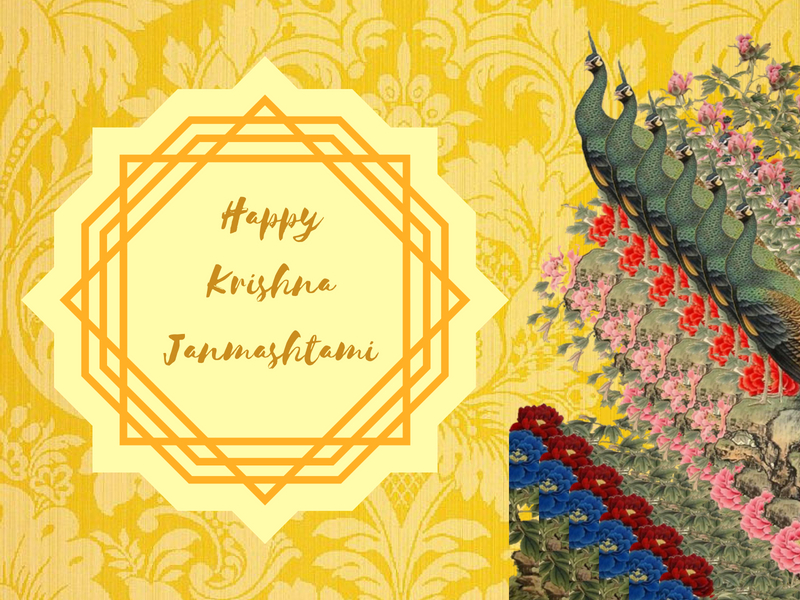 Happy Janmashtami Images: Images, Status, Wishes, Quotes, Krishna Janmashtami 2018 Messages, Greetings, Photos, Cards and Wallpaper