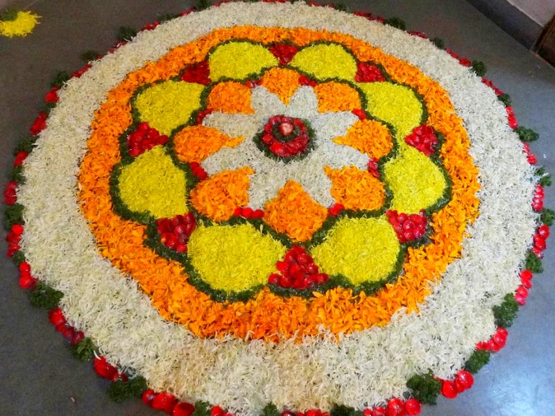 Happy Krishna Janmashtami Images of Rangoli Design